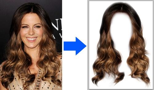 Как вырезать волосы в фотошопе, часть первая